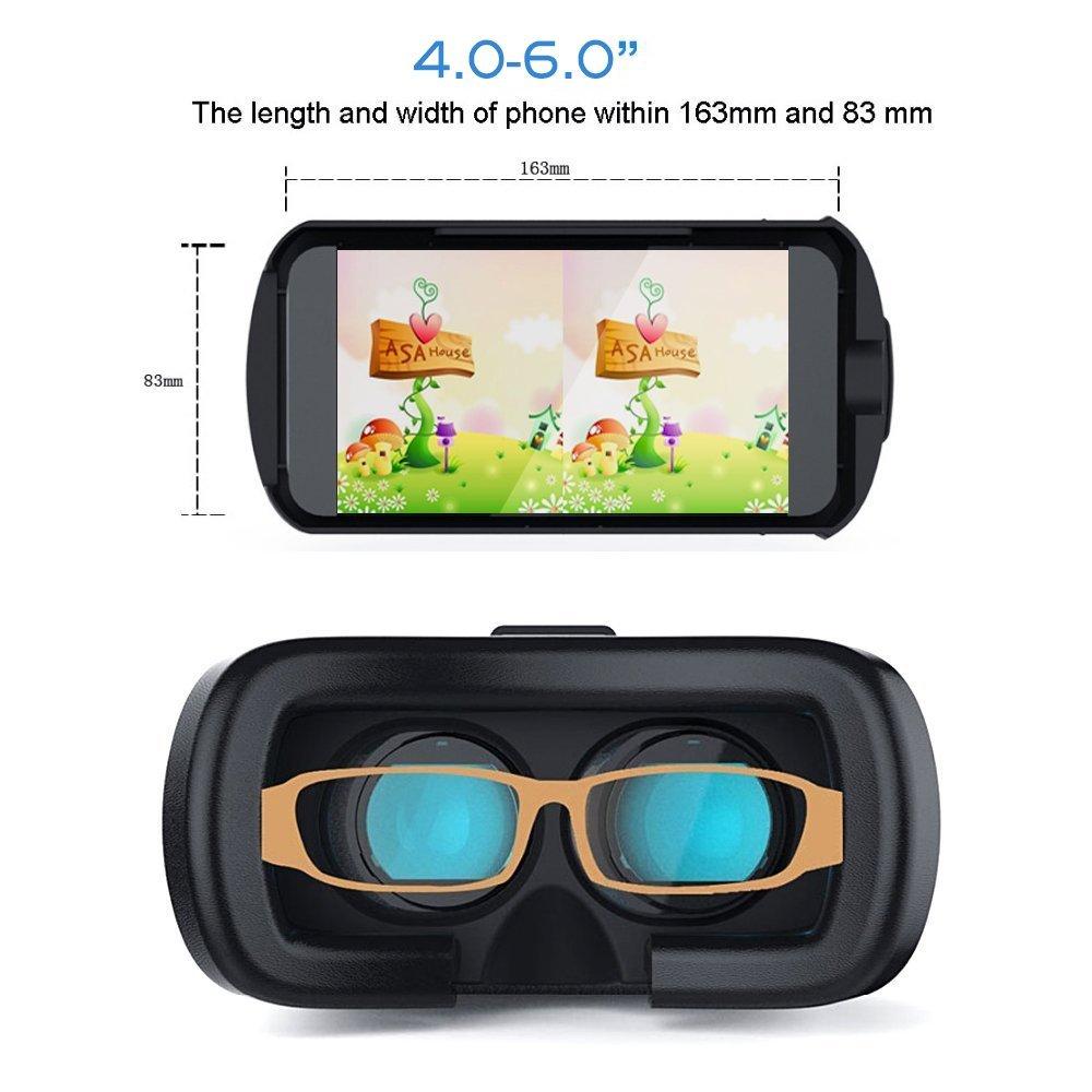 1b805742dc1 JINYJIA 3D VR Box Mobile Virtual Reality Glasses 3D  Amazon.co.uk   Electronics