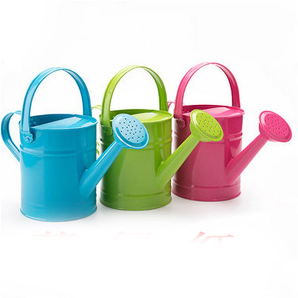 BEIGU Light Kids Watering Can Water Pot Garden Tools For Woman Kids Gardener,Set of 3