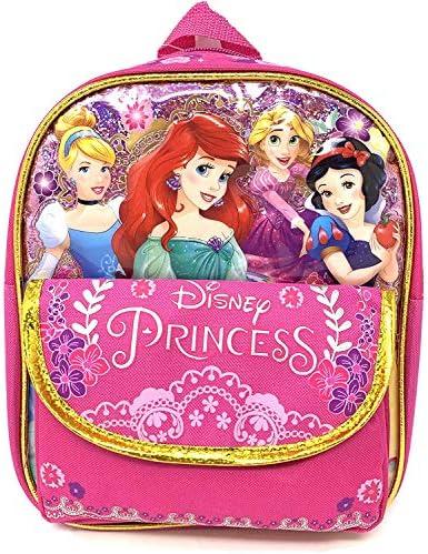 "Disney Princess Mermaid & Snow white 10\"" X-Small backpack"