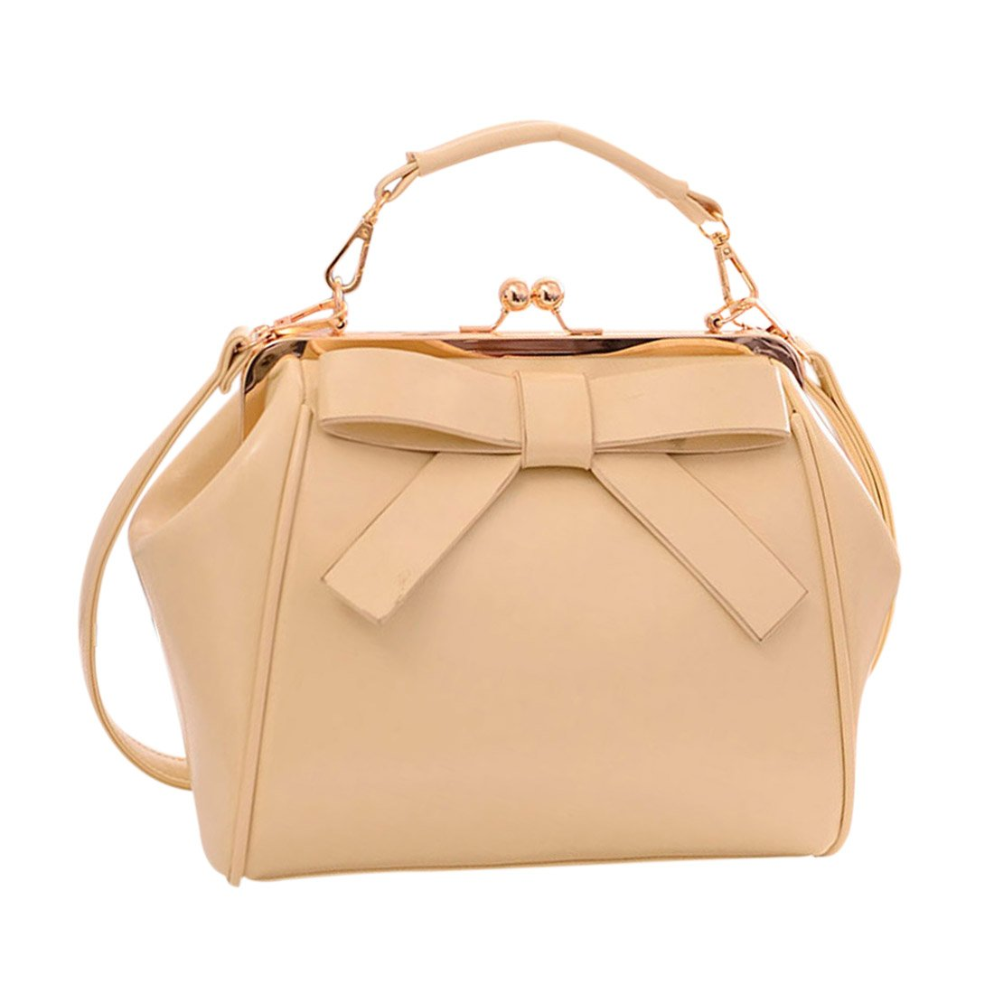 Qianle Women PU Leather Cute Bow Patten Handbag Purse Girls Cross-Body Bag DASEIN Women Handbags Top Handle Satchel Purse Shoulder Bag Briefcase Hobo Bag Set 2pcs Coach Lexy Shoulder Bag in Outline Signature 2018 Collection Style F57612 Women Pu Leather Weave Handbag Purse Bag Set 3 Pieces Tote Bag Set Shoulder Bags Big Capacity SILI Kattee Women's Soft Genuine Leather Tote Bag, Top Satchel Purses and Handbags Scarleton Decorative Front Belt Crossbody Bag H1725
