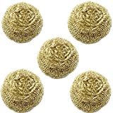FEITA 5packs Solder Tip Cleaning Wire with Brass Wire Sponge, Replacement Cleaning Wire for Tip Cleaner