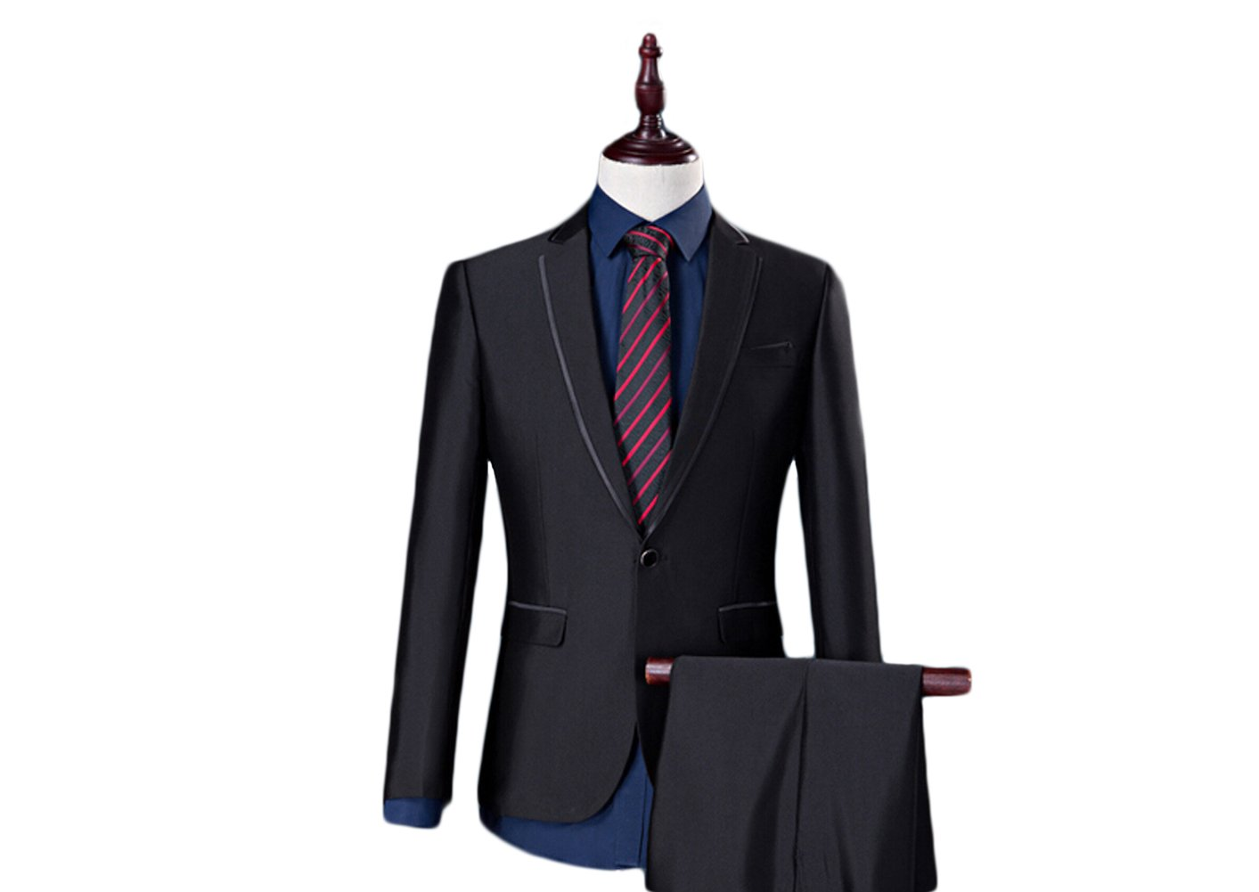 Love Dress Men's Thin 2-Piece Wedding Men Suit (Jacket+Pants) 5XL