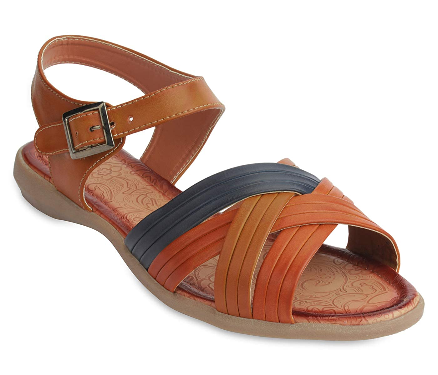 23862b691c8 peterpapa Casual Sandals for Women - Fashionable   Comfortable Sandals for  Girls  Amazon.in  Shoes   Handbags