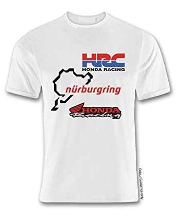 Hrc Honda Nurburgring Racing T Shirt Medium Amazoncouk Clothing