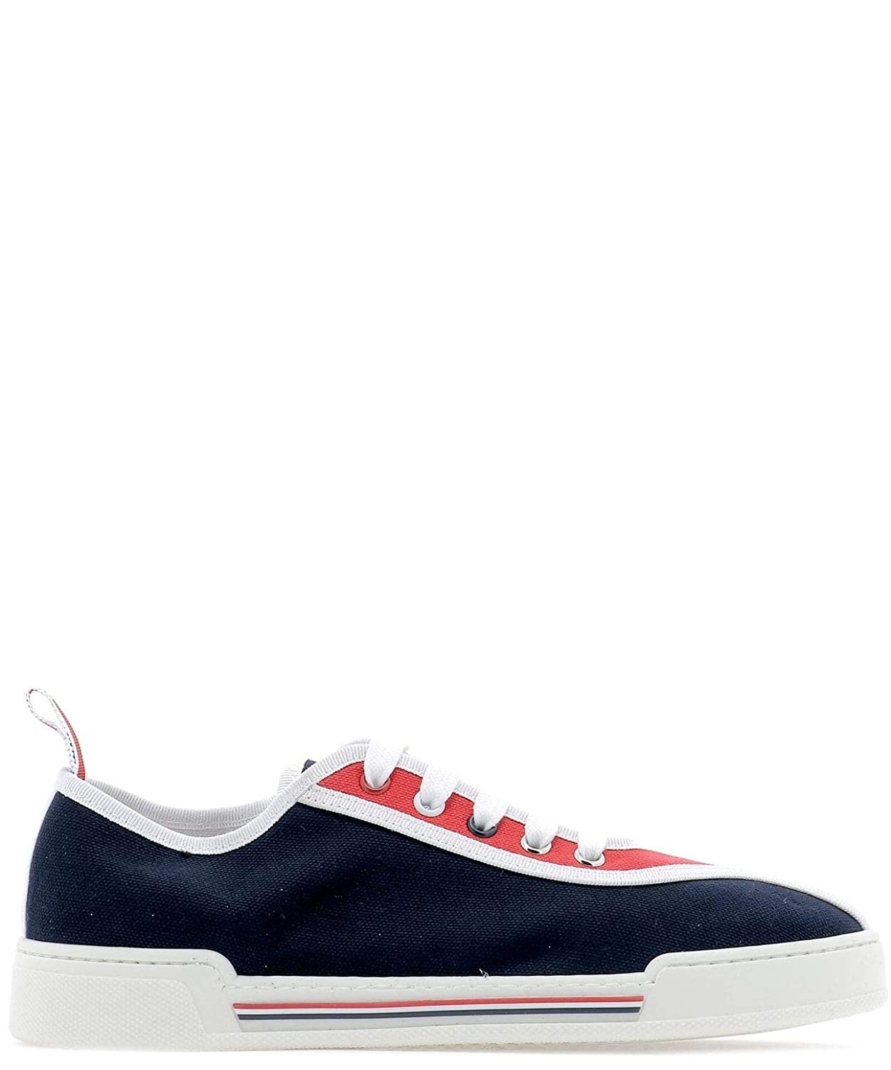 - THOM BROWNE Women's FFD033A04809960 bluee Fabric Sneakers
