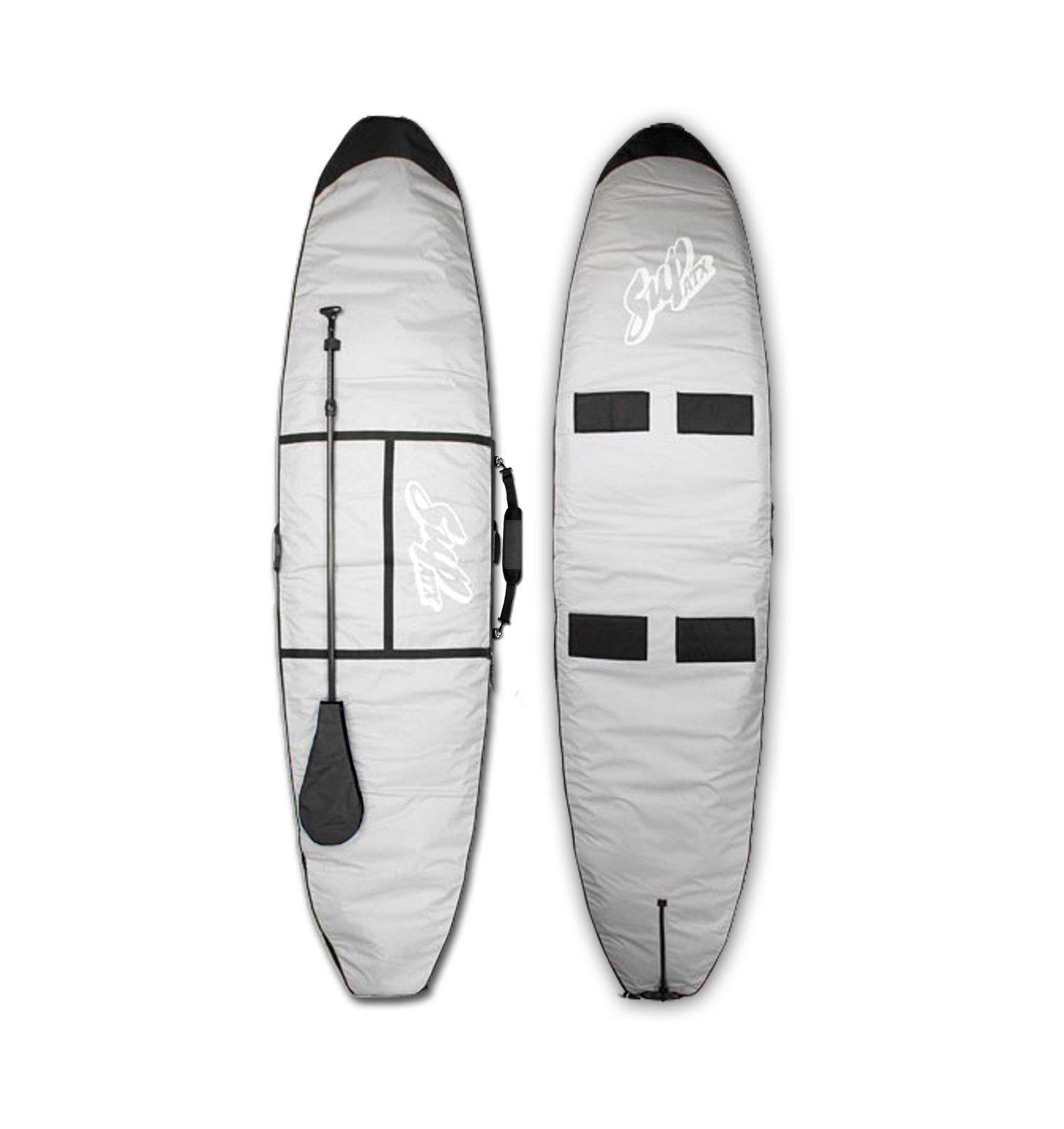 SUPATX Deluxe Paddleboard Bag, Grey, 10'0'' by Sup ATX (Image #1)