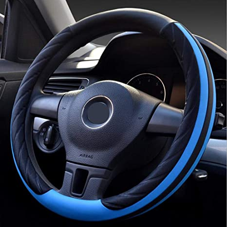 amazon com yire steering wheel cover car steering wheel cover fouryire steering wheel cover car steering wheel cover four seasons universal set of two color