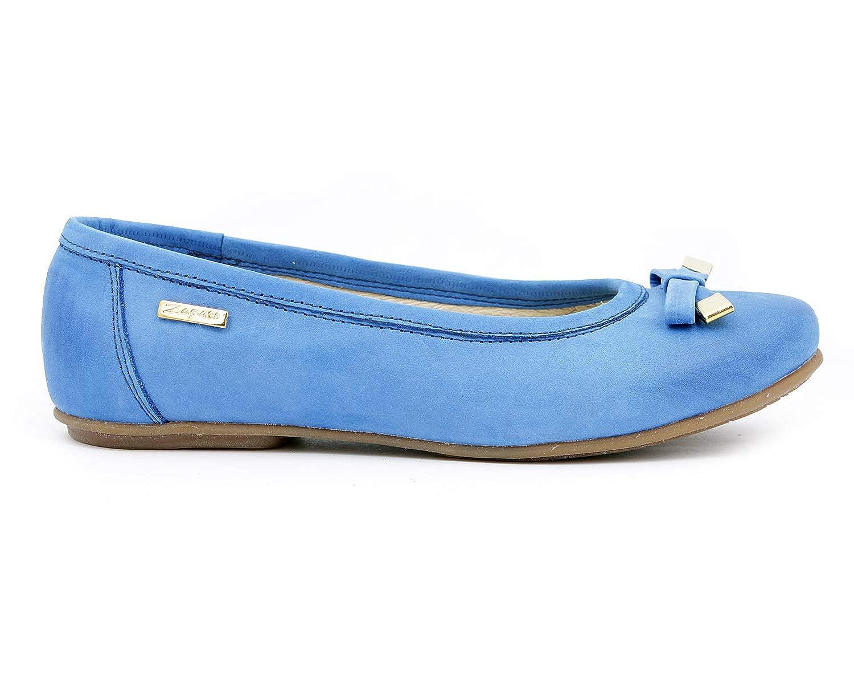 Zapato 012 Damen Ballett Blau - Kobalt - Größe  EU 38