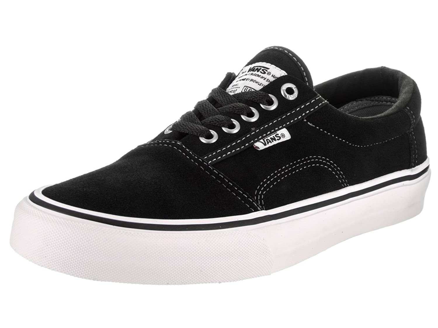 Vans Shoes – Rowley Solos Black White Walking Shoes daf73586a