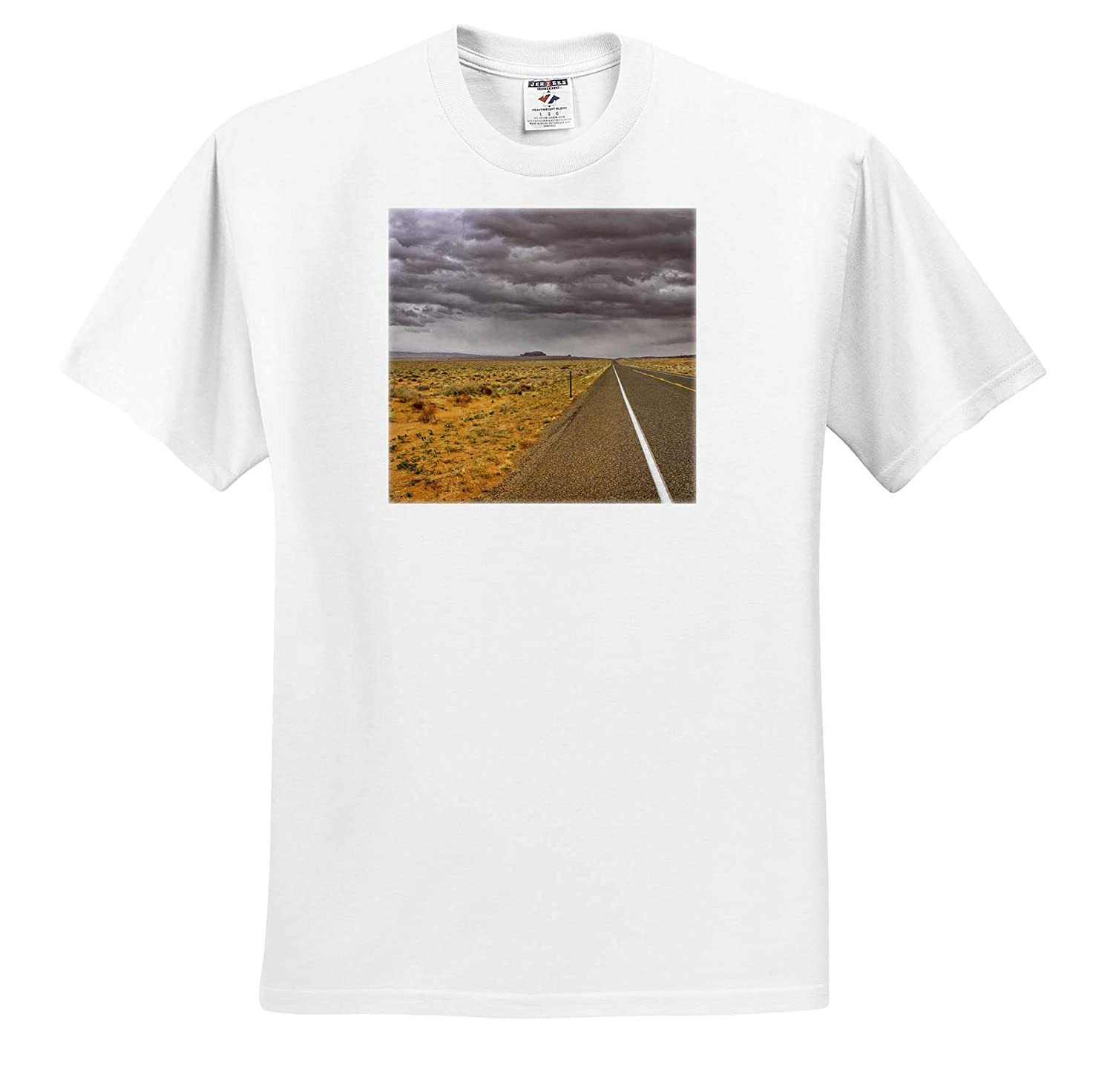 Scenery T-Shirts 3dRose Mike Swindle Photography Storm on The Highway