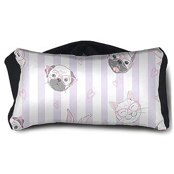 Amazon.com: Máscara de ojo de dormir portátil almohada de ...
