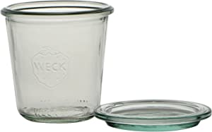 Weck 140 ml Jar with Lid 60 mm Box of 12 Glass Transparent