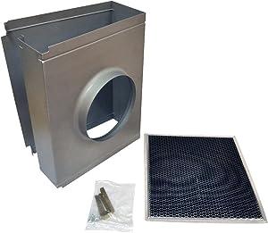 Whirlpool W10294733 Range Wall Hood Recirculation Kit, gray