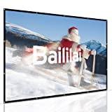 Projection Screen, Baililai 120-inch Portable