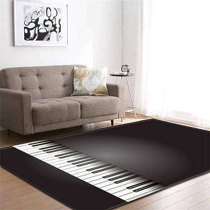 Sala de Estar área alfombras de Estilo nórdico casa ...