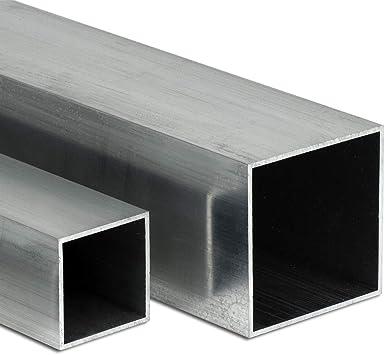 Aluminium Rechteckrohr AW-6060-50x30x3mm L: 400mm 40cm auf Zuschnitt