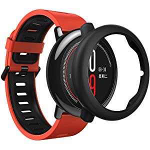 HUAMI AMAZFIT Colorful Slim Frame Concise Replacement Watch Protect Sheel Case Cover HUAMI AMAZFIT Smart Watch