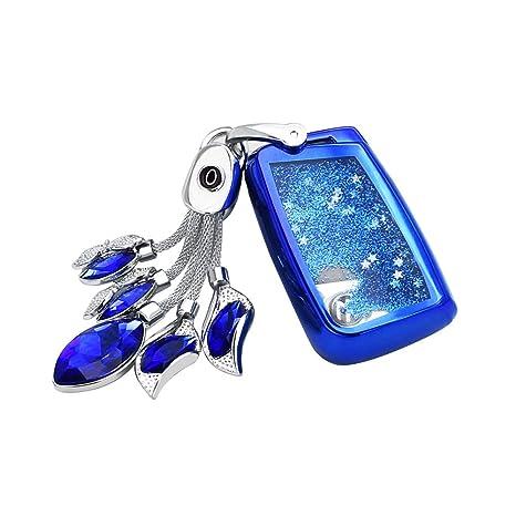 Amazon.com: JZ - Carcasa para llave de coche con purpurina ...