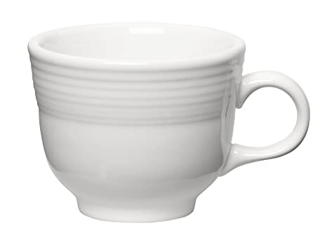 c4932109474 Amazon.com | Fiesta 7-3/4-Ounce Cup, White: Coffee Cups: Coffee Cups ...