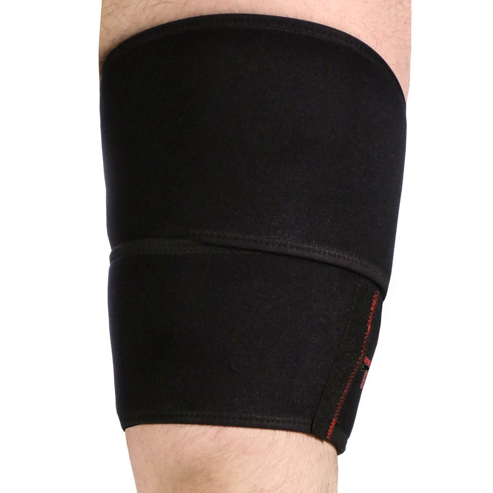 CSX Hamstring Wrap, Compression Thigh Support for Quad and Groin Muscles, Tall