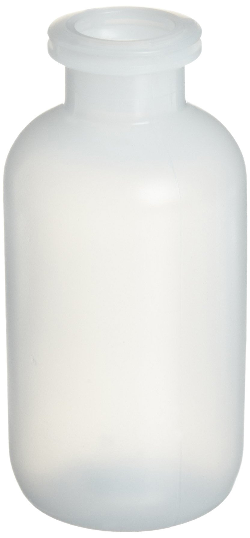 Wheaton 224037 Serum Bottle 120mL, HDPE, Mouth Dimensions: 13mm ID x 20mm OD, Bottle Dimensions: 47mm Diameter x 103mm Height (Case of 100)