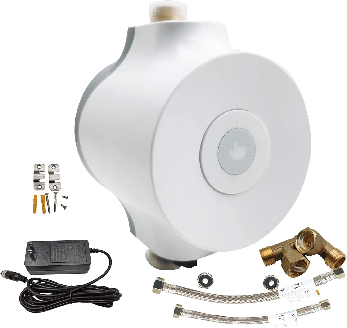 PROZRTED Smart Instant Hot Water Recirculating Pump System with Bulit-in Thermostat HBS24-12