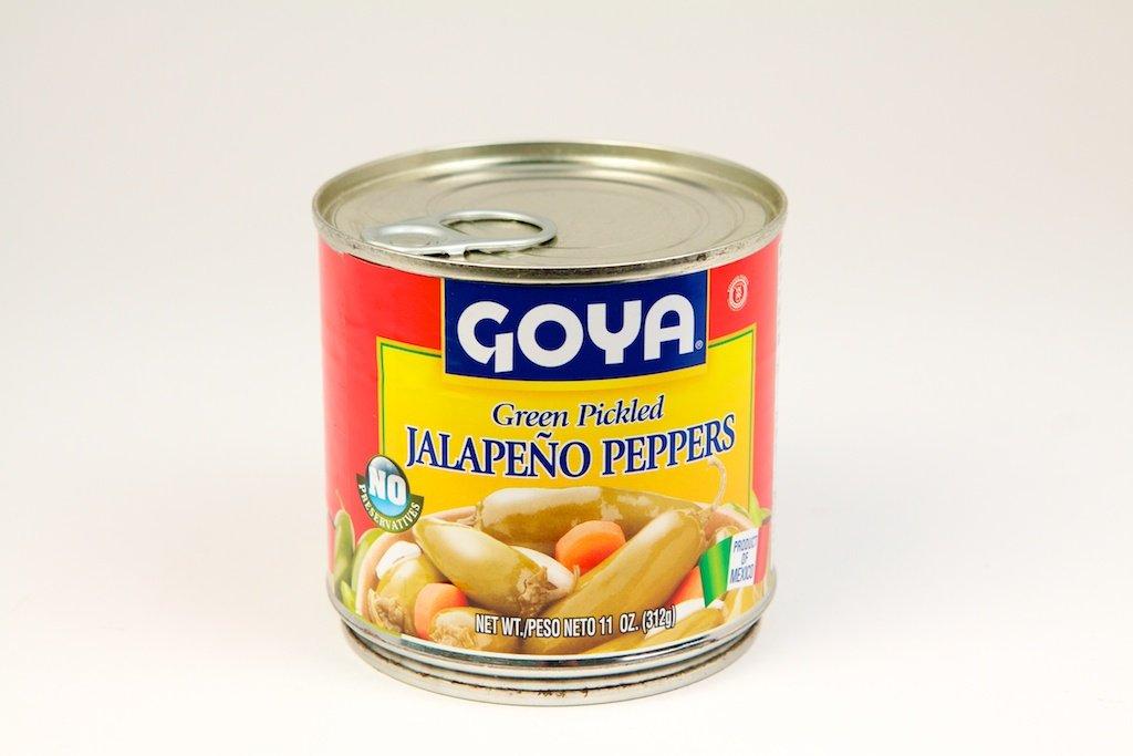 Goya Jalapeno Peppers 11 oz - Chiles Jalapenos En Escabeche