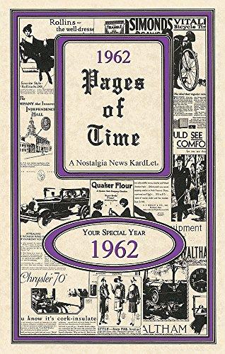 Seek Publishing 1962 Pages of Time Kardlet (PT1962)