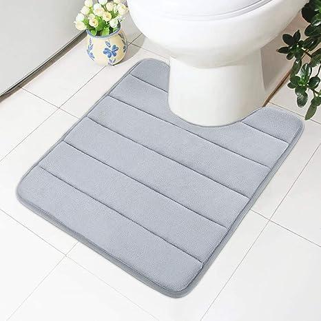 Memory Foam Absorbent Soft Floor Mats Non-slip Rugs Bath Bathroom Bedroom Carpet