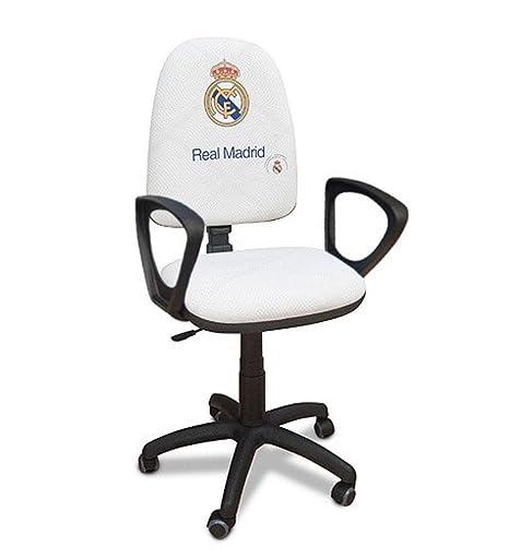SUENOSZZZ - Real Madrid - Producto Oficial/Sillón Escritorio Azul - 48x54x80