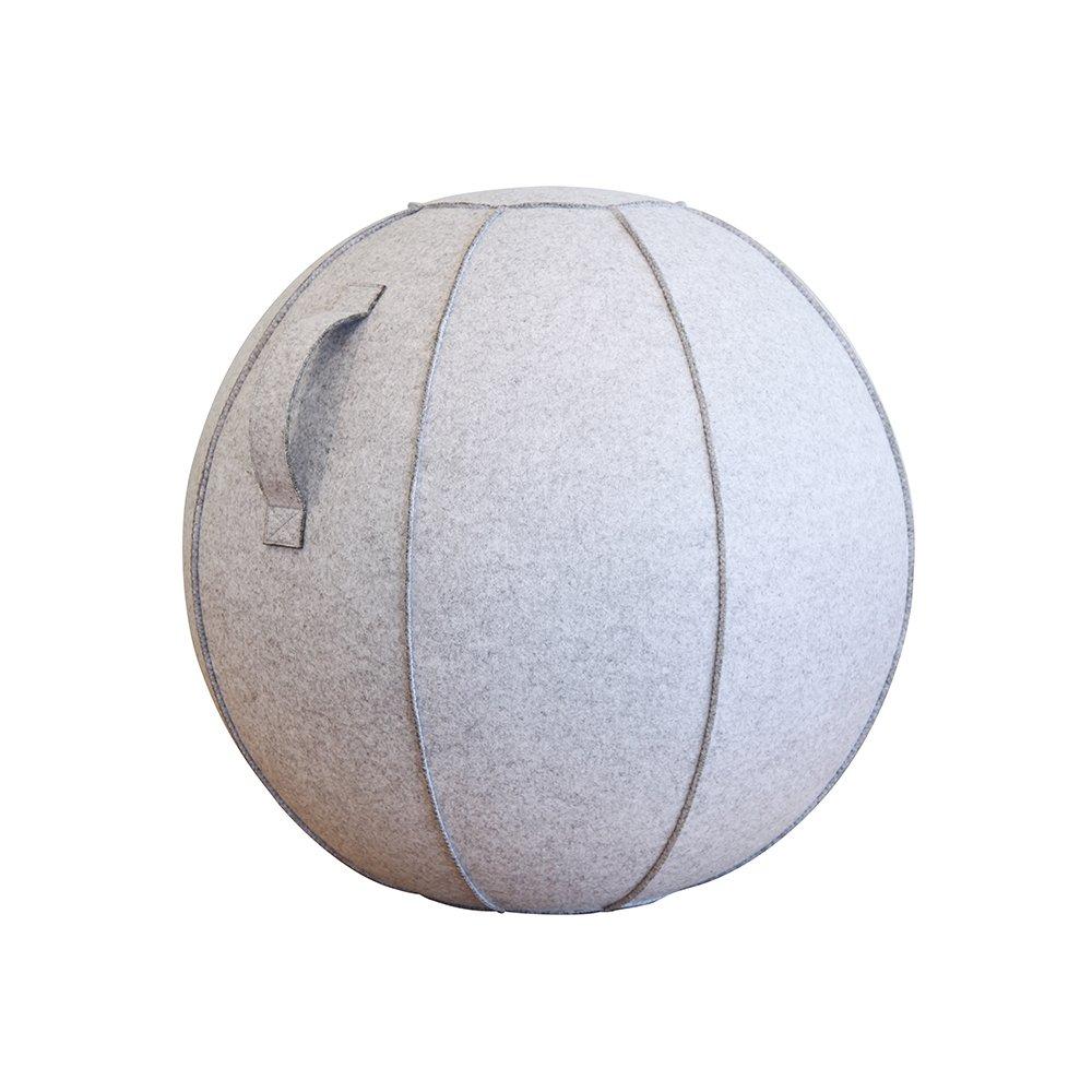 絶妙なデザイン ショップジャパン バランスボール ライトグレー 65cm カバー付き カバー付き 65cm B07FPQ7XLT ライトグレー, イタヤナギマチ:5ab1cac3 --- arianechie.dominiotemporario.com