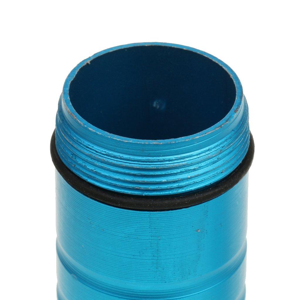 MagiDeal Outdoor Portatile Posacenere Impermeabile Sigillato Partite FOB Casella Scatola Caso per Pillola Messaggio di Emergenza Blu