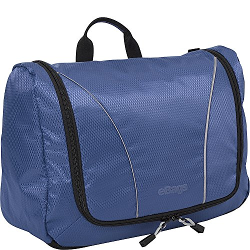 eBags Portage Large Toiletry Kit and Cosmetics Bag - (Denim)
