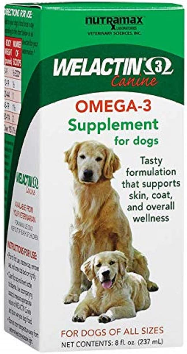 Welactin Omega-3 Skin and Coat Support Liquid, 8 oz