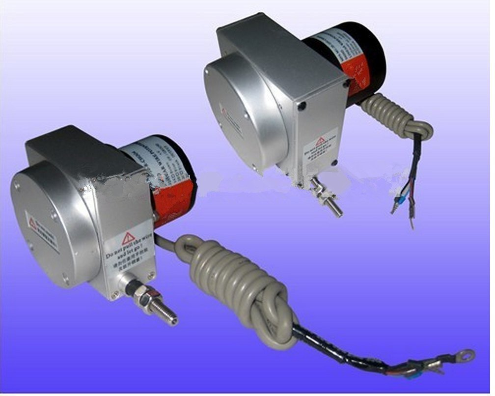 small type MPS-S-1200mm rope displacement sensor linear position transducer linear wire potentiometer 1200mm stroke