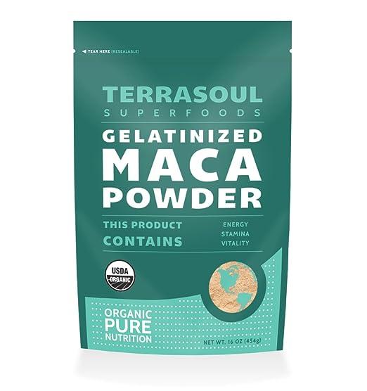 Terrasoul Gelatinized Maca Powder
