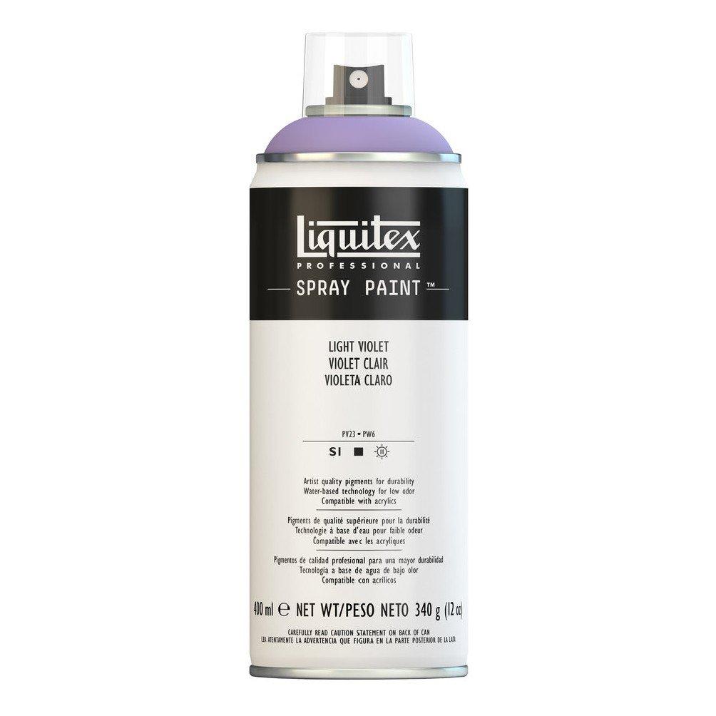Liquitex プロフェッショナル スプレーペイント 12オンス 400ml Can パープル 4450790 B008LUIXJQ Light Violet Light Violet