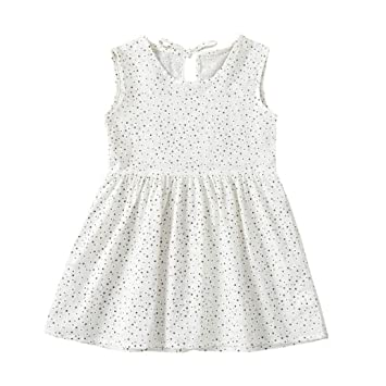 d959d9aeaf782 Amazon.com: Feitong 6 Months-4 Years Toddler Kids Baby Girls Floral ...