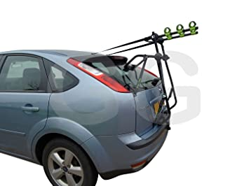 Adventure 3 Bike Cycle Carrier Boot Mounted Rack Fits Ford Focus