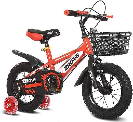 GAIQIN Durable Bicicleta para niños Bicicleta 2-4-5 años de Edad ...