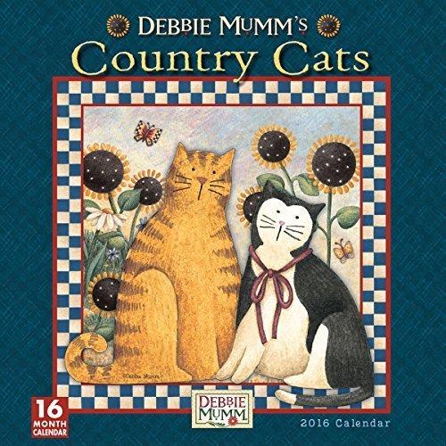 Country Cats 2016 Wall Calendar by Debbie Mumm