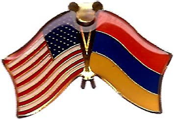 Select Gifts Armenia City Colombia Flag Tie Clip