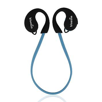 Auriculares Bluetooth, Bluesim Bluetooth estéreo 4.0 auricular inalámbrico Sport auriculares de diadema con micrófono llamadas