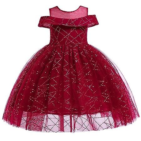 Jxth Vestido Formal del Banquete de Boda de los niños Falda de Las ...