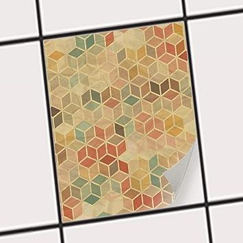 Creatisto Badezimmerfolie MotivFolie Sticker Aufkleber Fliesen - Fliesen überkleben erfahrung