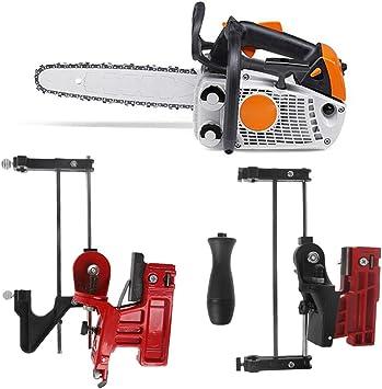 Manyo - Guía de afilado para motosierra, portalimas, herramientas de jardín para desbrozadora, cortacésped, motosierra universal: Amazon.es: Bricolaje y herramientas