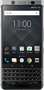 BlackBerry KeyOne Smartphone (GSM Unlocked) - 32GB - Silver (Renewed)