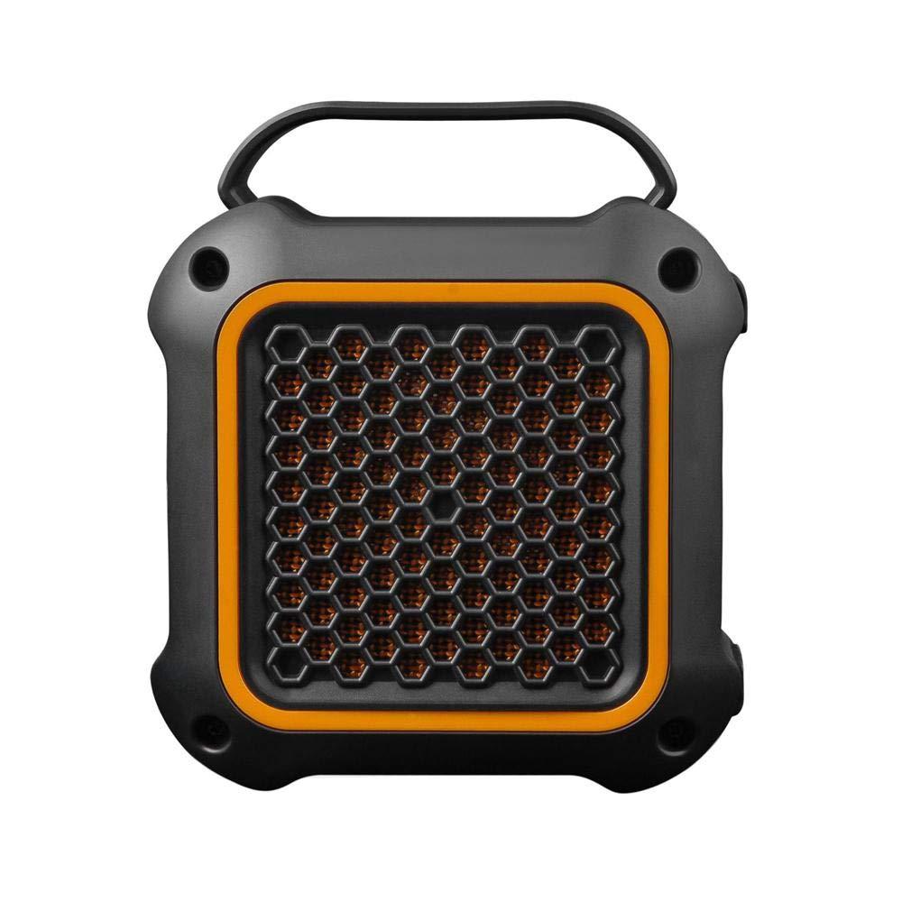 Bluetoothスピーカー 防水 ポータブル ミニホームカーオーディオスピーカー 防水アウトドア 優れたステレオサウンド マイク内蔵 Mp3 4ワイヤレススピーカー パーティー プール ビーチ 旅行 キャンプ用 オレンジ B07PQD4JC7 B07PQD4JC7 オレンジ