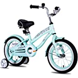 """JOYSTAR 12"""" 14"""" 16"""" Kids Cruiser Bike with Training Wheels for Ages 2-7 Years Old Girls & Boys, Toddler Kids Children Bicycle"""