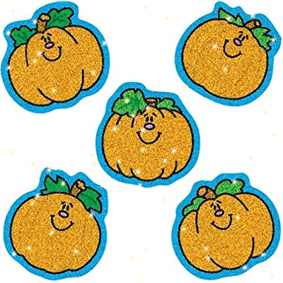 Carson Dellosa – Pumpkins Dazzle Stickers, Fall Classroom décor, 75 Count: Carson-Dellosa Publishing: Office Products